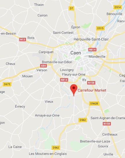 St Martin de Fontenay - Carrefour Market