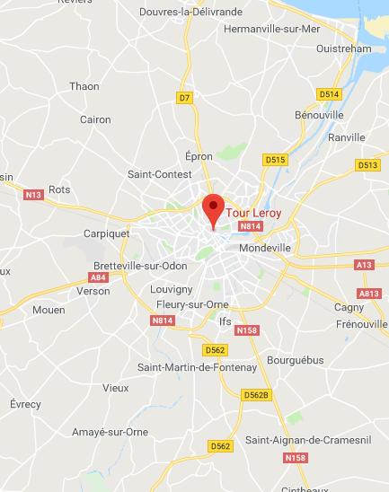 Caen - Marché de la tour Leroy
